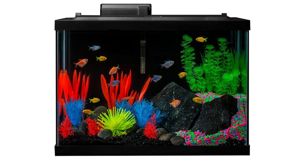 GLOFISH Aquarium Kit with Colorful Additions and Efficient Filtration image