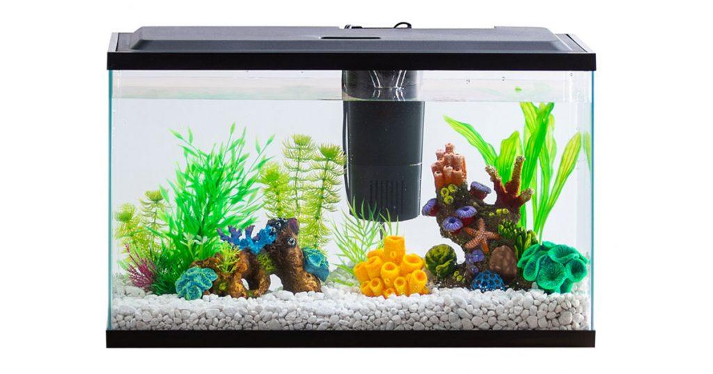 Penn Plax BT1 Small Size Betta Fish Aquarium Kit with LED Lights image
